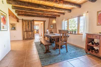 Taos Single Family Home For Sale: 3 Painter Road