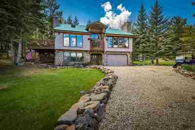Angel Fire Single Family Home For Sale: 62 Lakeview Park Drive