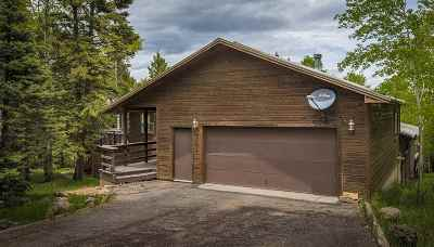 Angel Fire Single Family Home For Sale: 35 Camino Real