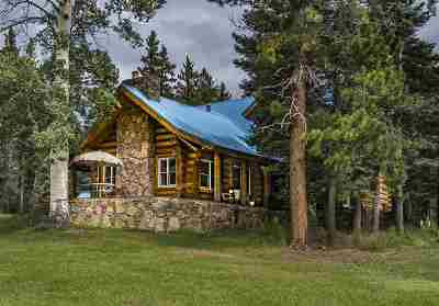 Angel Fire Single Family Home For Sale: 53 Forest Road 76