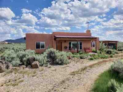Taos Single Family Home For Sale: 57 Camino De Los Arroyos