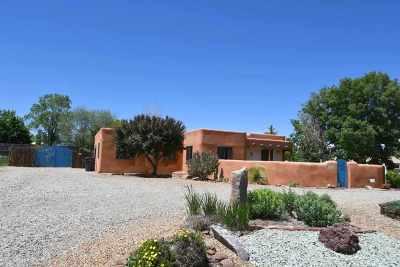 Taos Single Family Home For Sale: 346 Monte Vista