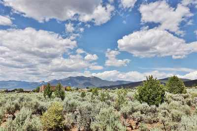 Taos Residential Lots & Land For Sale: Couse And Santa Cruz