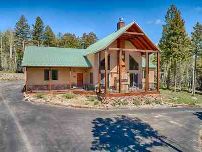 Angel Fire Single Family Home For Sale: 29 Vermejo Circle