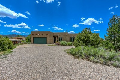 Taos Single Family Home For Sale: 241 Morgan Road