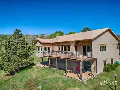 Angel Fire Single Family Home For Sale: 12 Hogan Circle