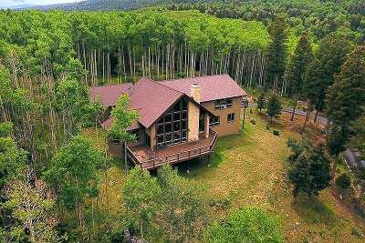 Angel Fire Single Family Home For Sale: 104 Santo Domingo