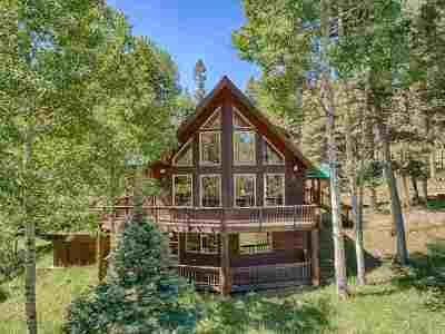 Angel Fire Single Family Home For Sale: 11 Peralta Dr