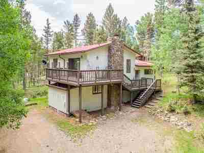 Angel Fire Single Family Home Active/Under Contract: 68 Alpine Lake Way