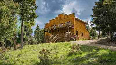 Angel Fire Single Family Home For Sale: 224 Taos Pines Ranch Road