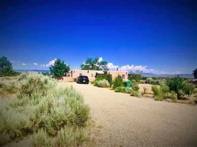 Taos Single Family Home Active-Price Changed: 1434 Sangre De Cristo
