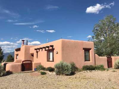 Taos Single Family Home For Sale: 13 Vista Del Ocaso Rd