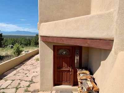 Arroyo Hondo Single Family Home For Sale: 100 Lobo Ranch Rd
