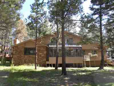 Angel Fire Single Family Home For Sale: 50 Cimarron Trail