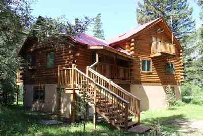 Red River Single Family Home For Sale: 53 Wheeler Peak Rd