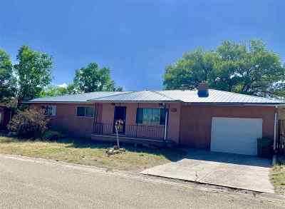 Taos Single Family Home For Sale: 809 Hill Drive