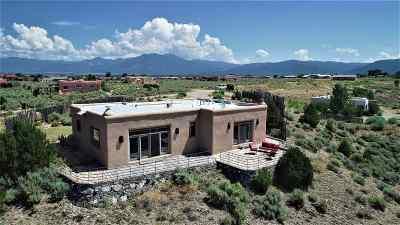 Ranchos De Taos Single Family Home For Sale: 17 Calle Del Sol
