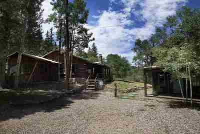 Taos Single Family Home For Sale: 26346 Highway 64e