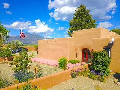 Taos Single Family Home For Sale: 421 Blueberry Hill Road
