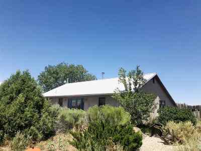 El Prado Single Family Home For Sale: 188 Lower Las Colonias Rd