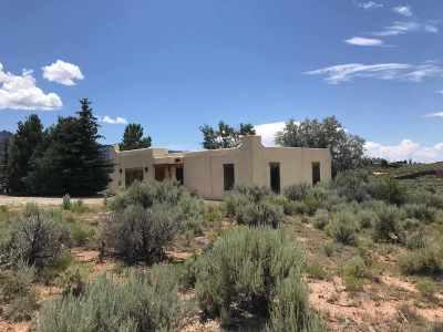Ranchos De Taos Single Family Home For Sale: 32 Camino Campana