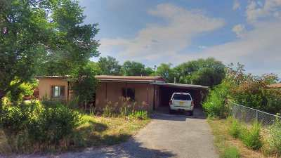 Taos Single Family Home For Sale: 502 Camino De La Placitas