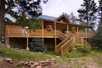 Angel Fire Single Family Home For Sale: B6 Ridgeway Rd