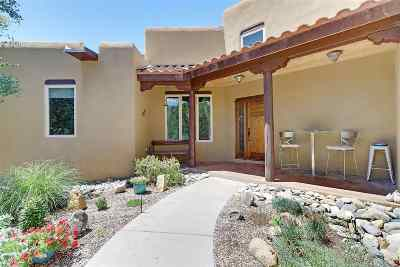 Taos County Single Family Home For Sale: 154 Gallina Canyon Road