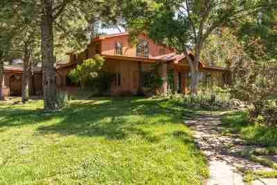 Arroyo Seco NM Single Family Home For Sale: $759,000