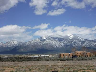 Taos Residential Lots & Land Back On Market: 1090 Sunshine Rd