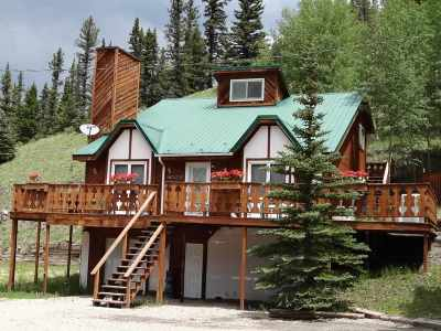 Red River Single Family Home For Sale: 13 Valley Of The Pines Rd
