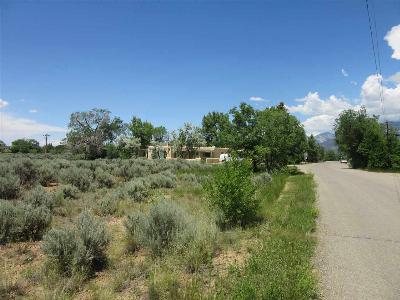 Taos Residential Lots & Land Active-Price Changed: Zuni