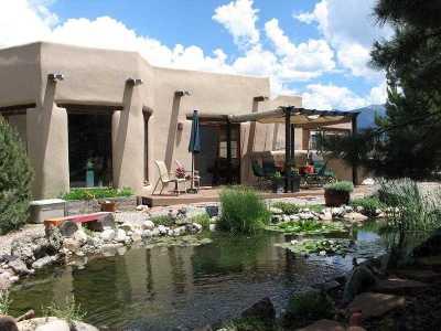 Taos County Single Family Home For Sale: 38 Del Norte