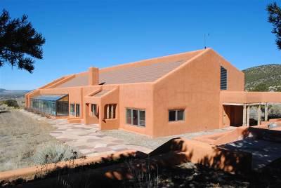 Taos County Single Family Home Active-Price Changed: 35 Mesa Del Vista