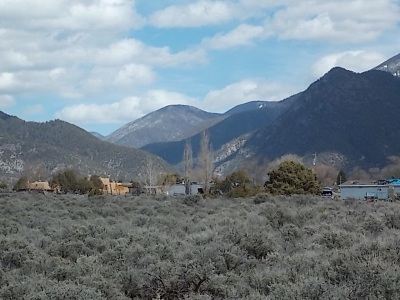 Taos Residential Lots & Land For Sale: Tracts B1-B6 Hondo Seco Road
