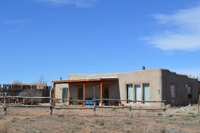 Taos County Single Family Home Active-Price Changed: 297 Cuchilla Road