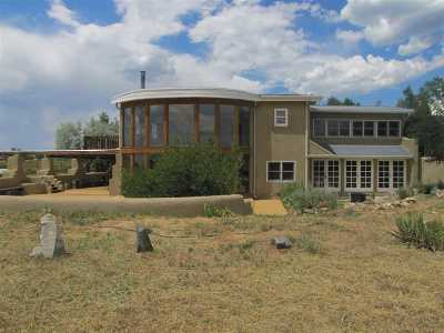 Taos County Single Family Home Active-Price Changed: 38 Shana Madre