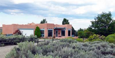 Taos County Single Family Home Active-Extended: 33 Rimview Road