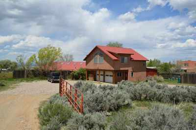 Taos Single Family Home For Sale: 166 Maestas Road
