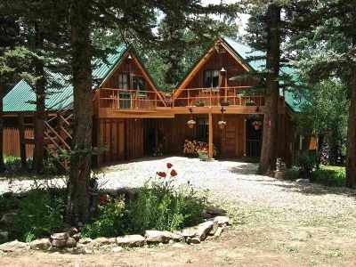 Taos County Single Family Home Active-Price Changed: 35 Clint Road