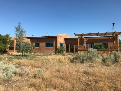 Taos County Single Family Home Active-Price Changed: 34 Sugar Lane