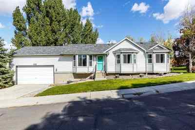 Elko Single Family Home Under Cont-Take Backups: 102 Rolling Hills Dr.
