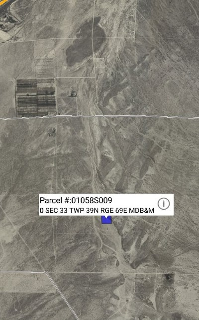 Residential Lots & Land For Sale: Sec 33 Twp 39n Rge 69e