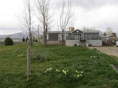 Elko County Manufactured Home Under Cont-Take Backups: 166 Crow Bar Ln