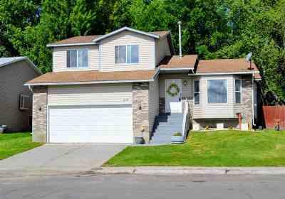 Elko Single Family Home Under Cont-Take Backups: 3117 Jennings Way