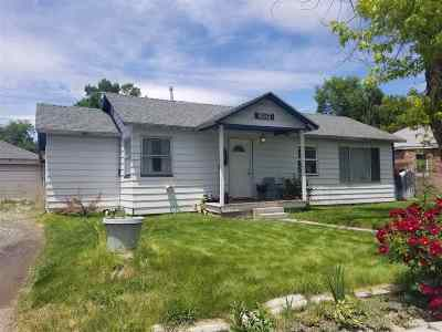 Elko County Single Family Home For Sale: 657 Ash St