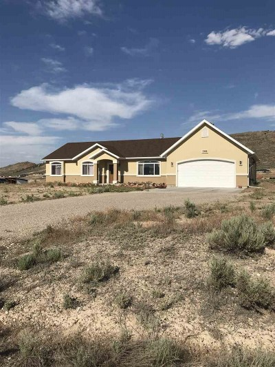 Elko Single Family Home Under Cont-Take Backups: 792 Four Mile Trail
