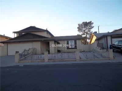 Las Vegas Single Family Home For Sale: 604 Cragin Park Drive