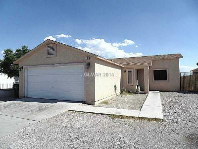 North Las Vegas NV Single Family Home For Sale: $220,000
