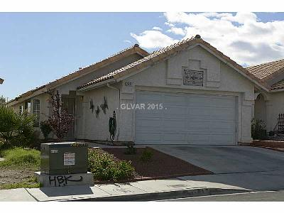 Las Vegas NV Single Family Home Sold: $160,000
